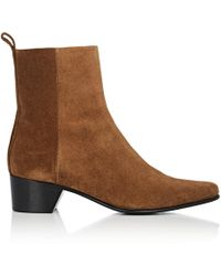 Pierre Hardy - Reno Leather Ankle Boots - Lyst