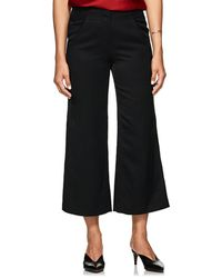 Zero + Maria Cornejo - Tin Tech-twill Wide-leg Pants - Lyst