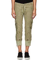 Greg Lauren - Thedrop@barneys: Gl1 Distressed Cotton Cargo Pants - Lyst