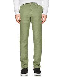 Incotex - Ray 5-pocket Linen-blend Pants - Lyst