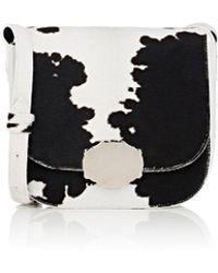 CALVIN KLEIN 205W39NYC - Cow Hair Saddle Bag - Lyst