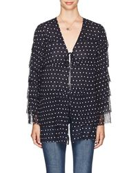 Sir. The Label - Marceau Polka Dot Silk Blouse - Lyst