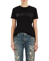 Helmut Lang - tom Of England Cotton T - Lyst