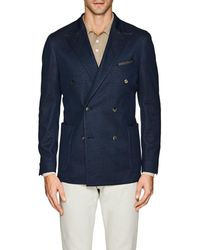 Boglioli - k Jacket Cotton Jersey Double - Lyst