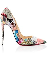 Christian Louboutin - So Kate Patent Leather Pumps Size 5.5 - Lyst