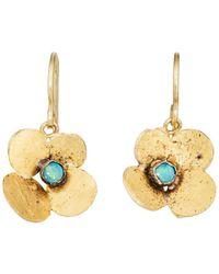 Judy Geib - Hydrangea Drop Earrings - Lyst