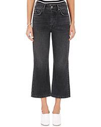 GRLFRND - Linda Crop Jeans - Lyst