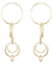 Jennifer Fisher - Small Multi Hoop Earrings - Lyst