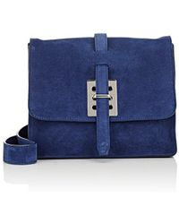 Fontana Milano 1915 - Busy Day Lady Small Suede Messenger Bag - Lyst