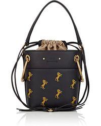 Chloé - Roy Small Leather Bucket Bag - Lyst
