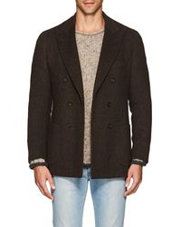 Isaia - Dustin Yak Wool Double-breasted Sportcoat - Lyst
