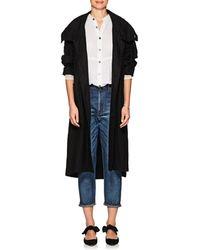 Pas De Calais - Linen Long Hooded Jacket - Lyst
