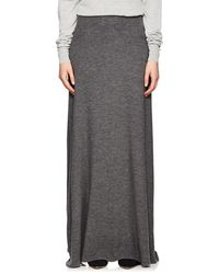 The Row - Oda Cashmere Maxi Skirt - Lyst