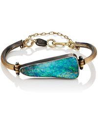 Judy Geib - Triangular Opal & Mixed-metal Bracelet - Lyst