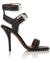 Givenchy - elegant Studded Leather Sandals - Lyst