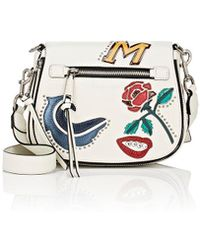 Marc Jacobs - Mj Collage Small Nomad Saddle Bag - Lyst