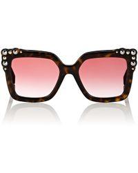 035bdf6a7967 Fendi Ff 0196 Sunglasses in Brown - Lyst