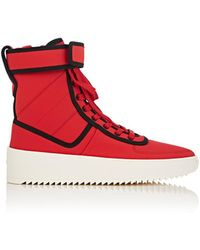 Fear Of God - Military Nylon High Top Sneakers - Lyst