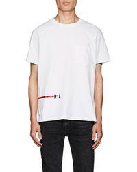 RTA - Logo Cotton T-shirt - Lyst