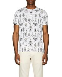 Fendi - Bug-print Cotton T - Lyst