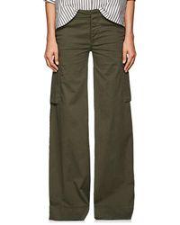 Nili Lotan - Harrow Cotton Cargo Pants - Lyst