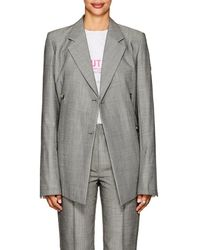 Helmut Lang - Virgin Wool-mohair Double - Lyst