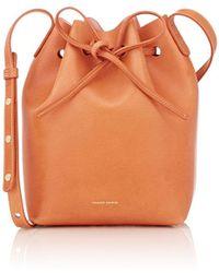 Mansur Gavriel | Mini Leather Bucket Bag | Lyst
