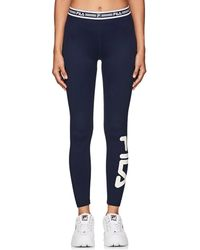 Fila - Thedrop@barneys: Kaelyn Logo Leggings - Lyst
