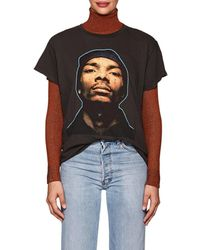 MadeWorn - Celebrity-graphic Cotton Jersey T-shirt - Lyst