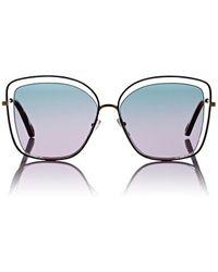 Chloé - Poppy Butterfly Sunglasses - 240 - Lyst