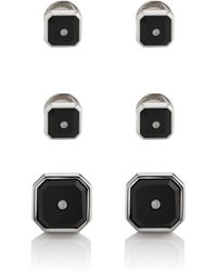 Barneys New York - White Diamond & Onyx Formal Set - Lyst