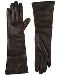 Barneys New York - Leather Long Gloves - Lyst