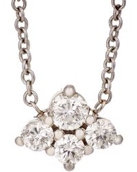 Sara Weinstock - Cluster Pendant Necklace - Lyst