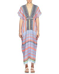 lemlem - Folkloric & Striped Cotton-blend Cover - Lyst