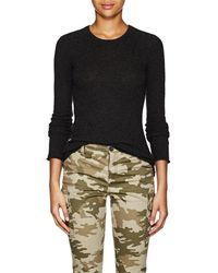 ATM - Heathered Cashmere Sweater - Lyst