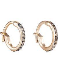 Ileana Makri - Huggie Hoop Earrings Size Na - Lyst