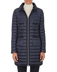 cf66c478e Lyst - Moncler 'bogue' Padded Coat in Natural