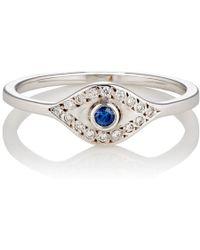 Ileana Makri - Wisdom Eye Ring - Lyst
