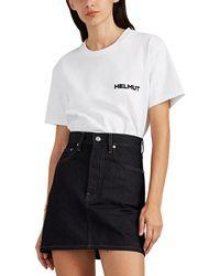 Helmut Lang - in Lang We Trust Cotton T-shirt - Lyst