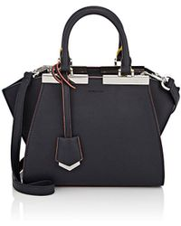 Lyst - Fendi Pre-owned 3jours Shopping Bag in Pink 58b125691c71d
