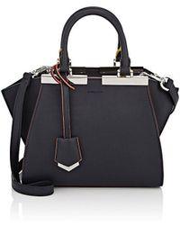 Fendi - 3jours Mini Leather Satchel - Lyst