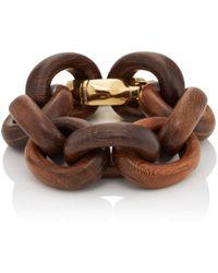 Goossens Paris - Wooden Oval-link Bracelet - Lyst