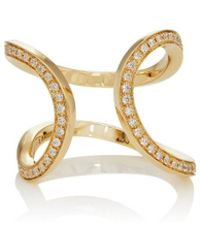Dauphin - Small Serpentine Cuff Ring - Lyst