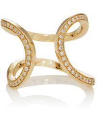 Dauphin - Small Serpentine Cuff Ring - Lyst