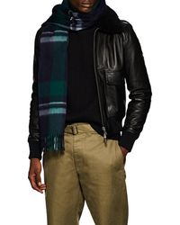 Barneys New York - Jura Plaid Wool - Lyst