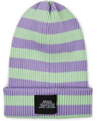 Marc Jacobs - Striped Cotton Beanie - Lyst