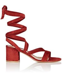 Gianvito Rossi - Janis Low Sandals - Lyst