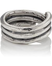 Emanuele Bicocchi - Sterling Silver Wrap Ring - Lyst