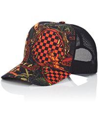 Givenchy - Mesh & Twill Trucker Hat - Lyst