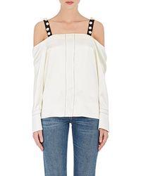 3.1 Phillip Lim - Embellished Silk Top - Lyst